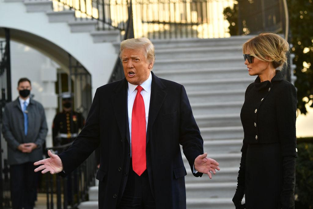 Trump schreibt ersten Social Media Beitrag seit Verlassen des Weißen Hauses