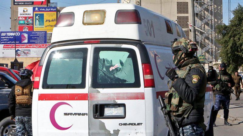 Mehr als 30 Tote und dutzende Verletzte bei Anschlag in Bagdad