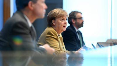 "Merkels ""Vorsorge"": Härterer Lockdown trotz weniger Corona-Fällen"