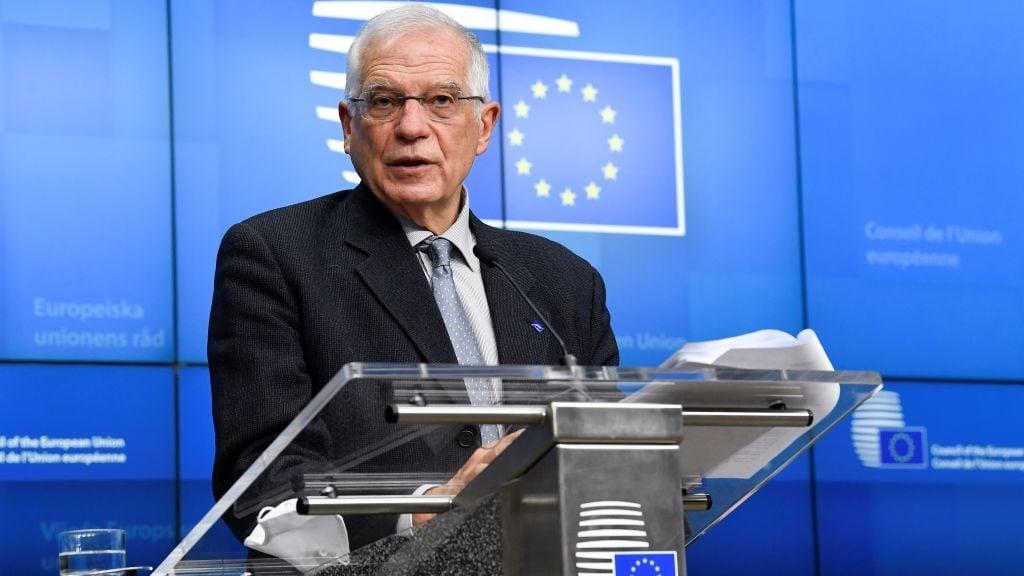 EU-Chefdiplomat fordert Umsetzung von Wirtschaftssanktionen gegen Belarus