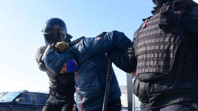 Rußland: Proteste und über 5.000 Festnahmen – Sicherheitskräfte gehen massiv gegen Anti-Putin-Proteste vor