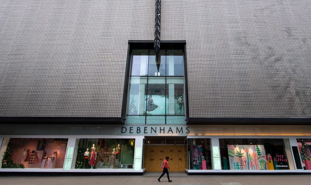 Britische Kaufhauskette Debenhams schließt alle Häuser mit 12.000 Beschäftigten