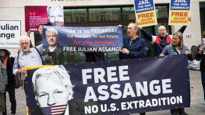 Gericht entscheidet am Montag über Auslieferung von Assange an die USA