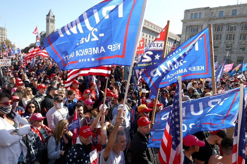 """Trump-Unterstützer fühlen sich medial falsch dargestellt: """"Wo sind unsere Rechte und unsere Freiheiten?"""""""