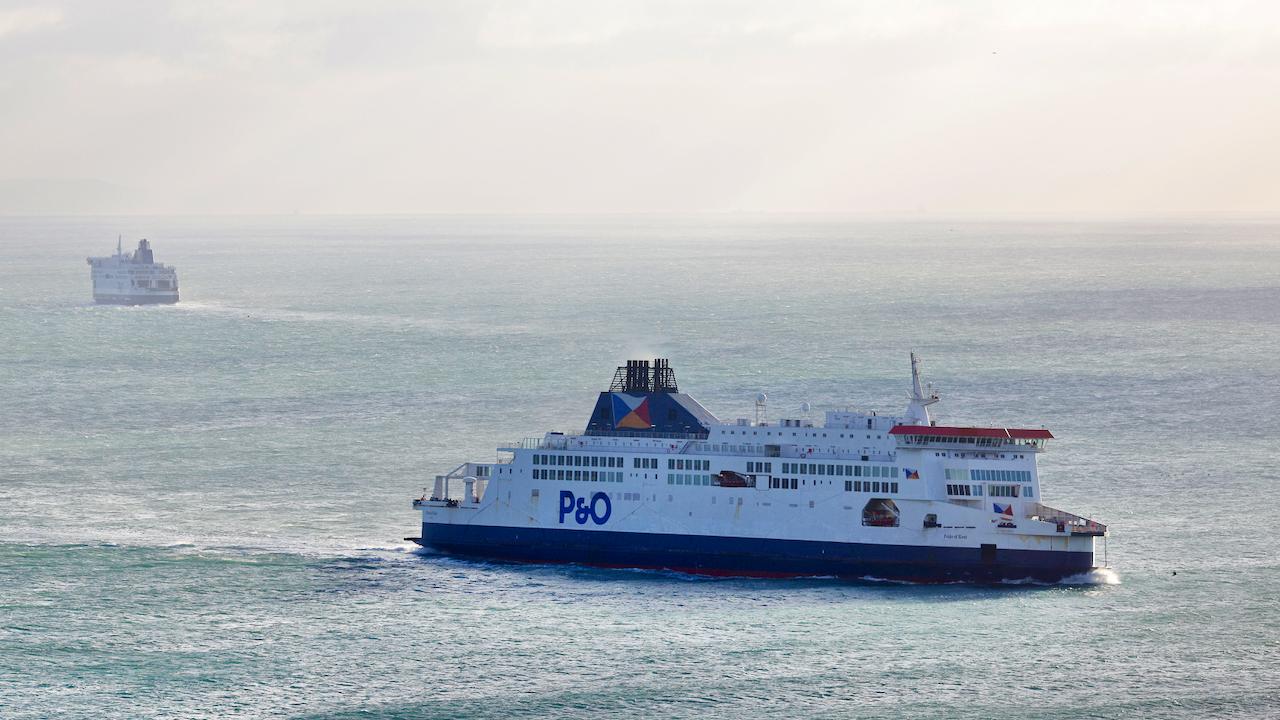 Güterverkehr unter dem Ärmelkanal im Corona-Jahr nur um neun Prozent geschrumpft