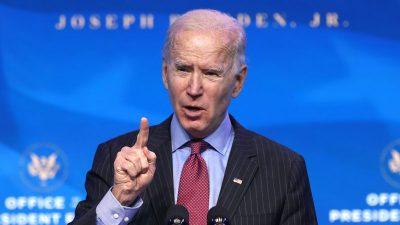 """Biden sagt Waffenlobby den Kampf an: """"Werde NRA abermals besiegen"""""""