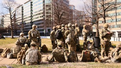 Tausende von Truppen der Nationalgarde bleiben bis März in Washington
