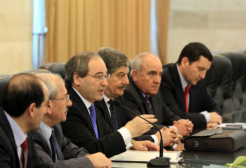 EU belegt neuen syrischen Außenminister mit Sanktionen