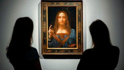 """Italienische Polizei findet 500 Jahre alte """"Salvator Mundi""""-Kopie"""