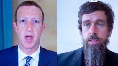 Seit Löschung von Trump-Konten: Twitter und Facebook verlieren 51 Milliarden Dollar an kombiniertem Marktwert