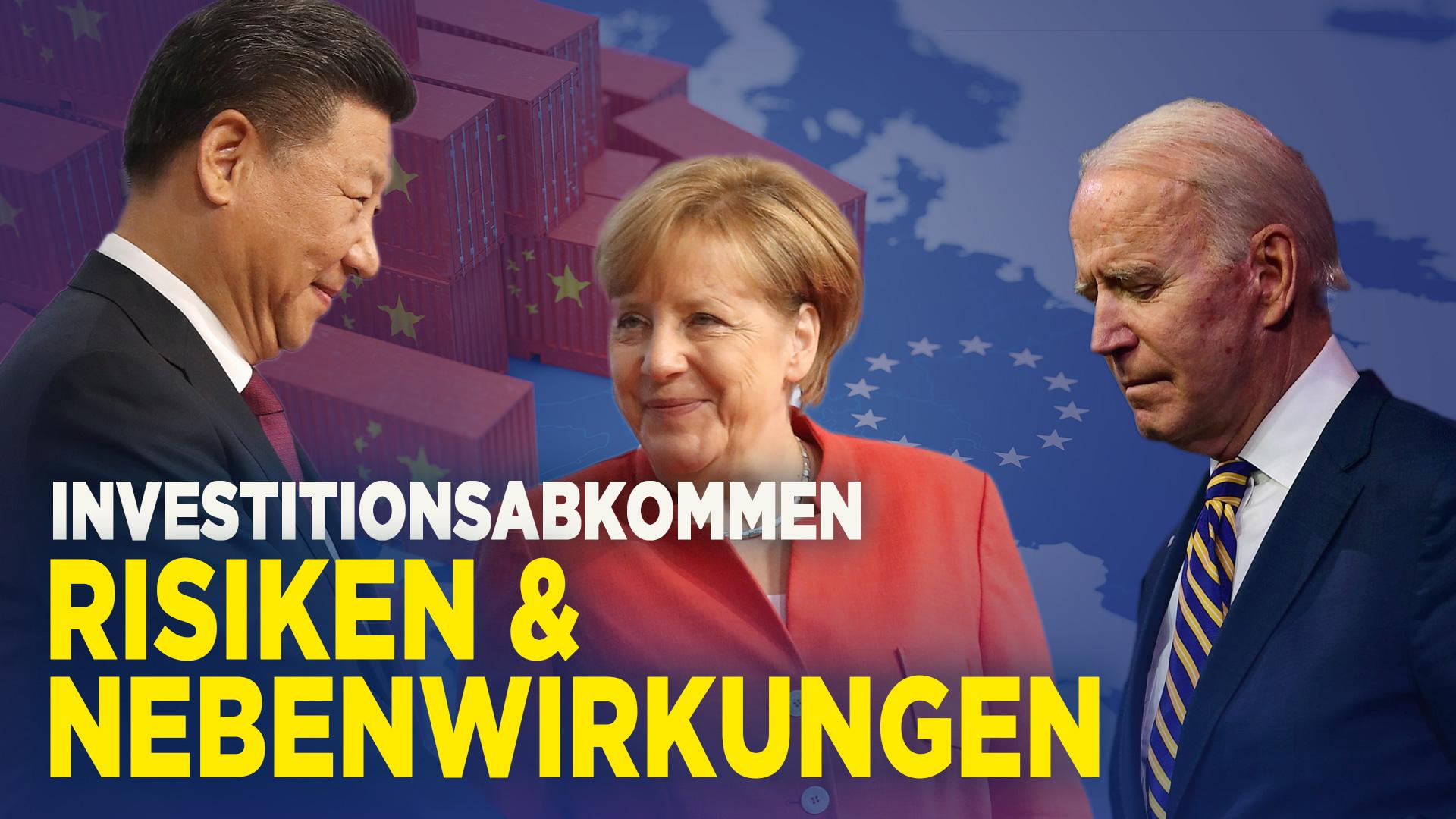 Merkels Geschenk an Peking, Korb für Biden