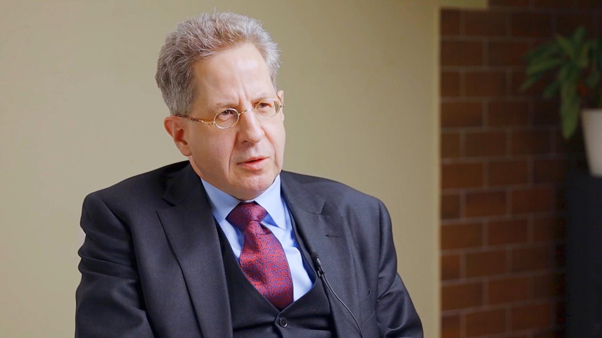 """Exklusiv-Interview mit H.-G. Maaßen: """"Sehr reizvoll für Medien und Politiker, mit Ängsten zu arbeiten"""""""