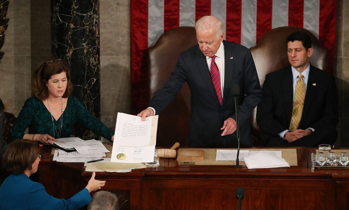 US-Kongress bestätigt Richtlinien zur Stimmenauszählung am 6. Januar