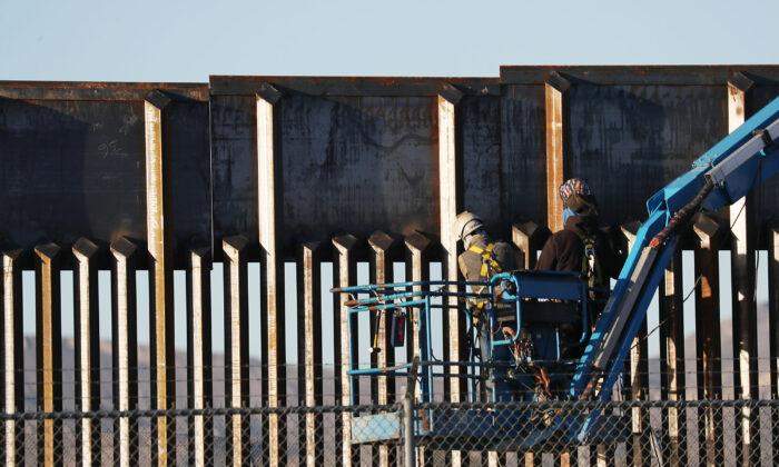 """""""Einwanderung als Teil der Rassengleichheit"""": Bau der Mauer zwischen USA und Mexiko gestern gestoppt"""