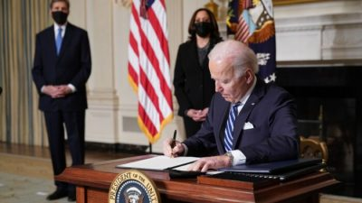 USA: Sechs Generalstaatsanwälte warnen Biden vor Überschreitung seiner Befugnisse