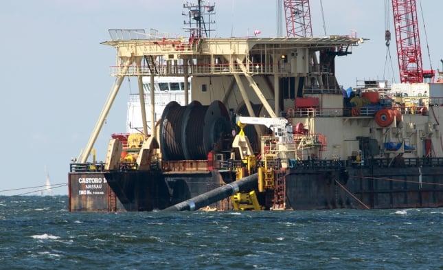 Verlegearbeiten fortgesetzt für umstrittene Ostsee-Pipeline Nord Stream 2