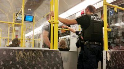 Deutsche Bahn verhängt Zugverbote gegen Maskenverweigerer