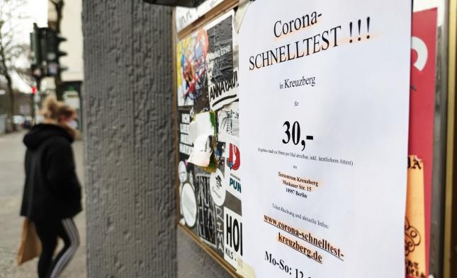 Bayern: Corona-Schnelltests erkennen 70 Prozent positiver Fälle