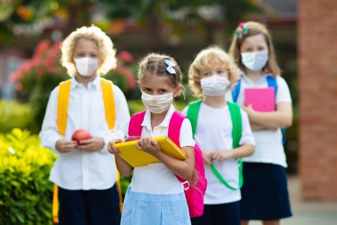Regierung: Bald soll es FFP2-Masken in Kindergrößen geben