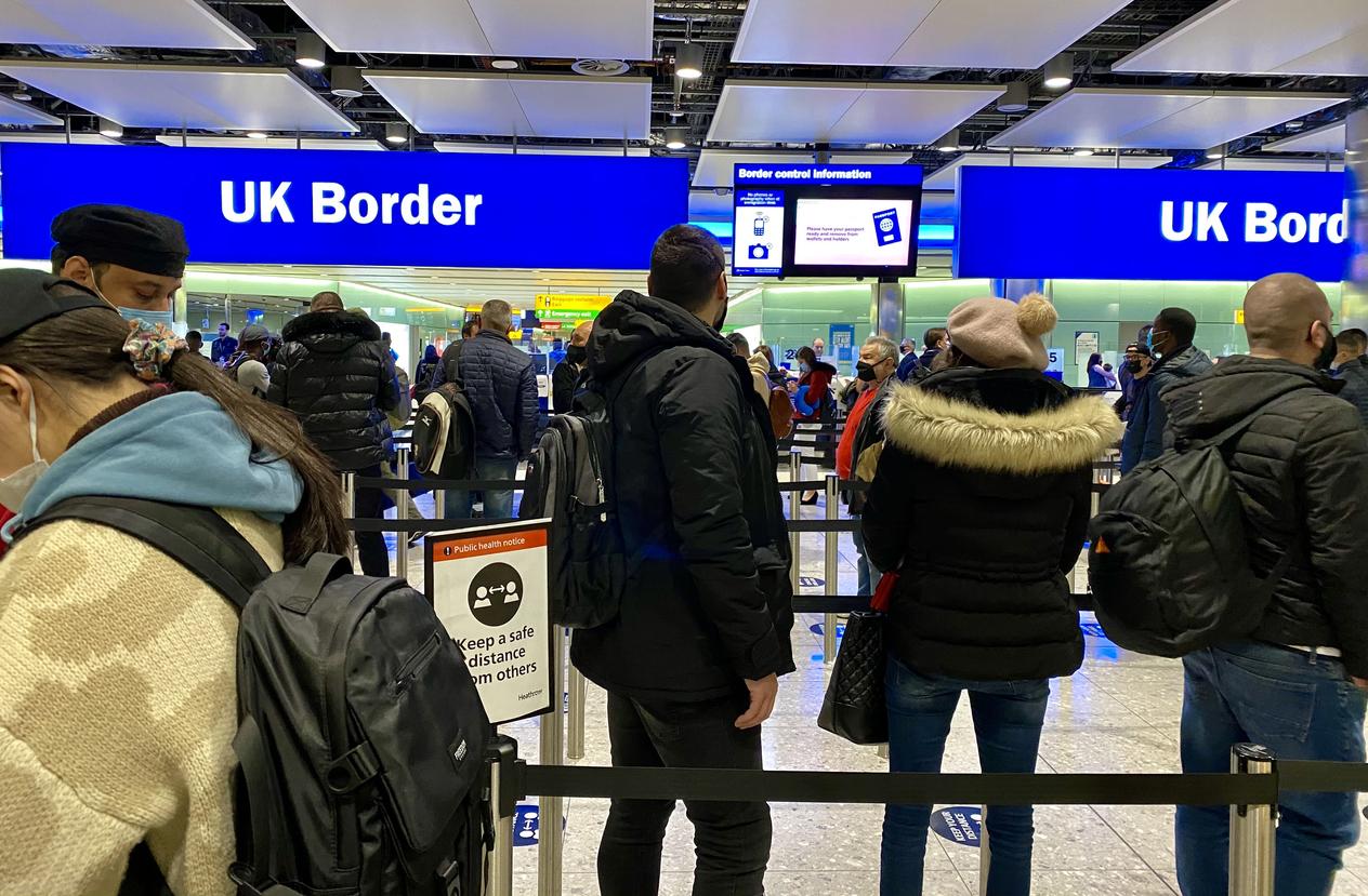 Künftig negativer Corona-Test bei Einreise nach England vorgeschrieben