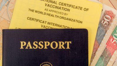Paris lehnt Debatte über EU-Impfpass derzeit ab