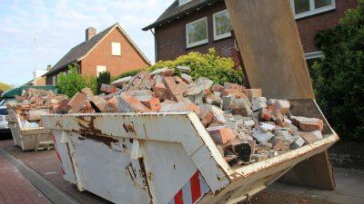 Bauschutt: Regierung beschließt weitere Regeln zum Recycling von Baustoffen