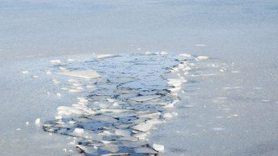Frostige Idylle mit Tücken: Eisflächen sind noch zu dünn zum Betreten