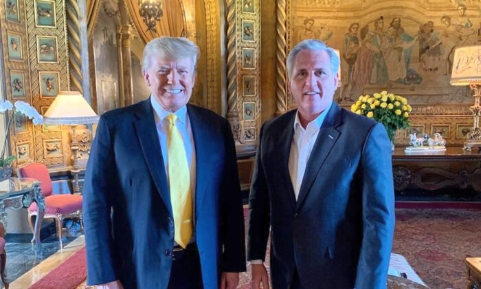 """Trump: """"Gutes und herzliches"""" Treffen mit Repräsentant McCarthy – keine Pläne für eine dritte Partei"""