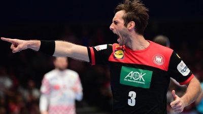 «Extrem wichtiger» Kapitän: Gensheimer führt Handballer