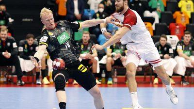 Deutsche Handballer mit Sieg gegen Österreich auf EM-Kurs