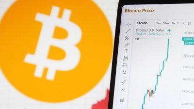 """40.000 US-Dollar: Bitcoin trotz Rekordkurs """"hochriskantes Spekulationsobjekt"""""""