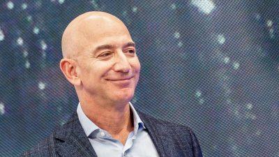 Amazon-Chef Bezos spricht sich für Anhebung der Unternehmensteuer aus