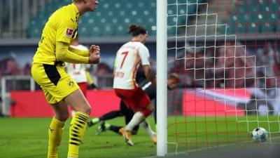 Dortmund gewinnt Topspiel in Leipzig – FC Bayern bleibt Erster