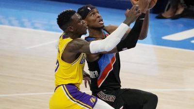 Lakers auswärts weiter ungeschlagen