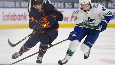 Mit Draisaitl und Kahun: Oilers verlieren NHL-Auftakt