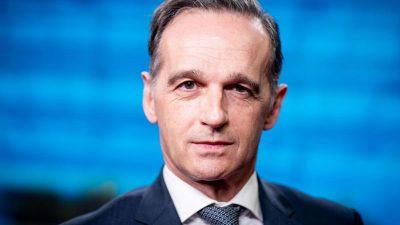 Außenminister Maas für Entzug der Eishockey-WM in Belarus