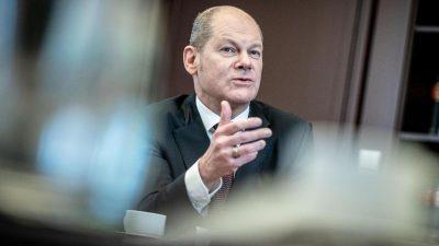 Scholz dringt auf weitere Entlastung für Kommunen