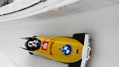 Friedrich siegt auch im Viererbob: Nun Weltcup-Rekordsieger