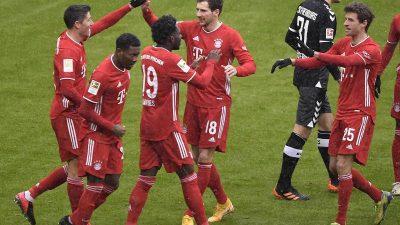 Bayern baut Tabellenführung aus – Sieg gegen SC Freiburg