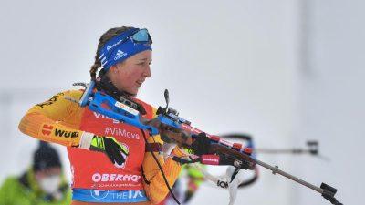Preuß als Medaillen-Hoffnung zur Biathlon-WM