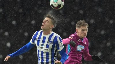 Hoeneß schickt Hertha Richtung Abstiegszone