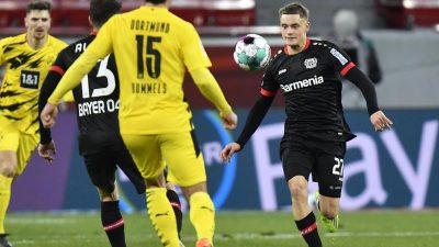 Oh weh, BVB – Dortmund verliert Verfolgerduell in Leverkusen