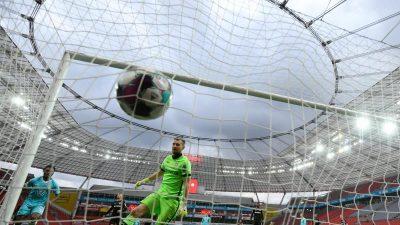 Leverkusen wohl raus aus dem Titelrennen – Wolfsburg Vierter