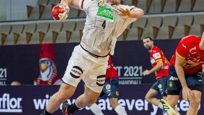 Handball-Nationalspieler Golla positiv auf Corona getestet
