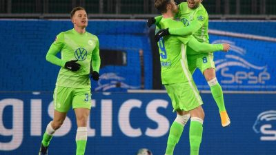 Wolfsburg stürmt auf Platz drei: Sieg gegen Freiburg