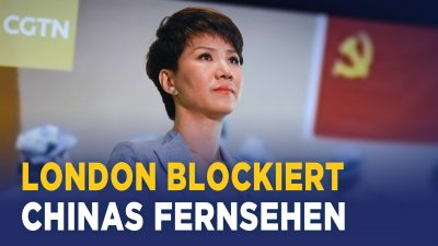 Chinas Staatssender verliert seine Lizenz in Großbritannien – und plant Umzug nach Brüssel