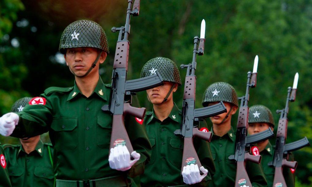 Militär in Myanmar setzt deutsche Rüstungsgüter ein