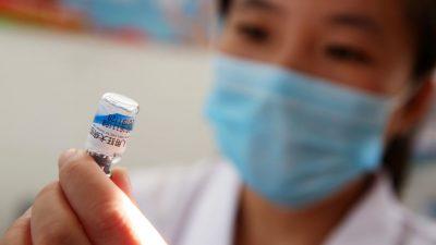 """Interne Dokumente: Warnung vor """"abnormalen Reaktionen"""" auf Corona-Impfstoffe in China"""