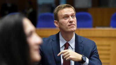 Heftige Wortgefechte bei Prozessfortsetzung gegen Nawalny
