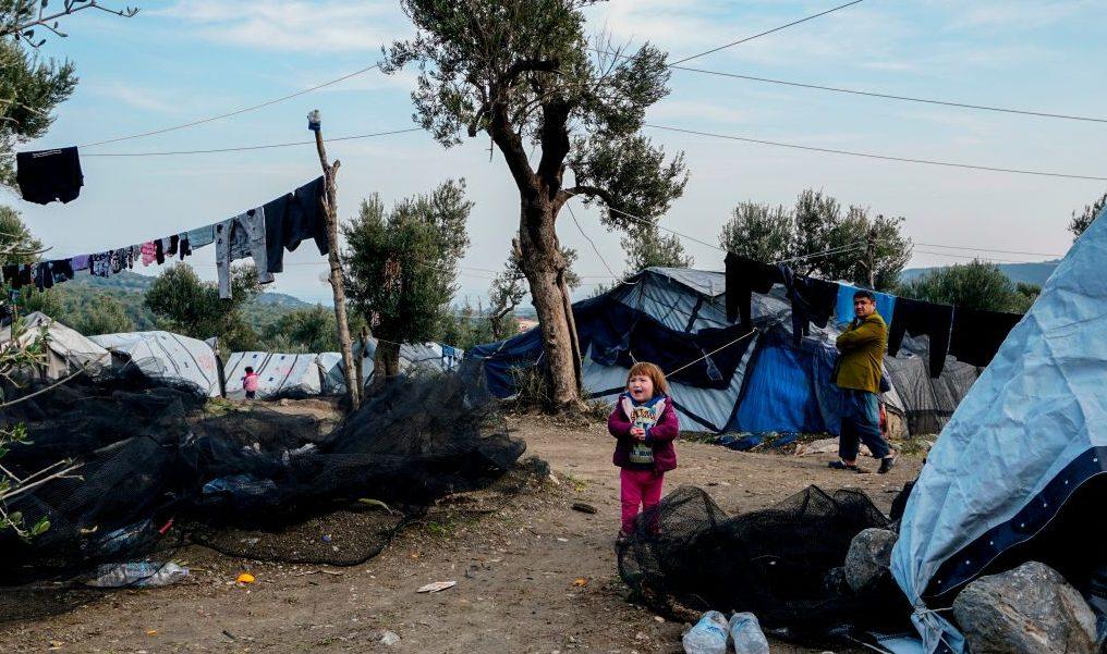 Schwangere zündet sich in griechischem Flüchtlingslager selbst an